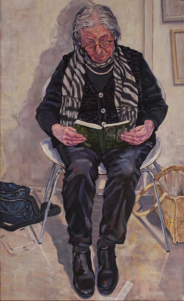 2020, Corinne, olieverf, 130 x 80 cm